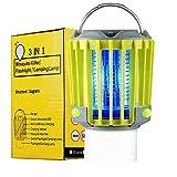 Portable Camping Lantern Garden Light, IP67 Waterproof LED Light 300lm...