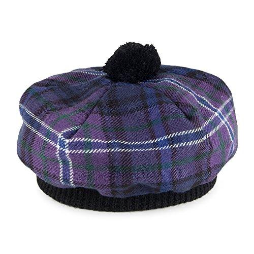 L'Ecosse pour toujours Tartan Tammy Hat (moderne) en laine d'agneau