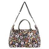 CODELLO Damen Tasche, Weekender | Peanuts-Design | 100% Baumwolle Canvas | 66 x 20 x 42 cm