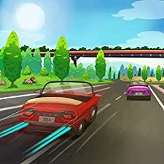 Street theme car racing! Driving on open roads. Easy to play car driving controls. Challenging levels. Stunning graphics and sound effects! Realistic car driving game physics.