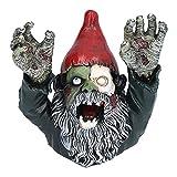 Surebuy Décoration de Jardin de Poupée d'horreur d'halloween, L'atmosphère Est Mise en Valeur par des Nains Zombies, des Décorations d'halloween en Plein Air pour Le Mal et L'horreur