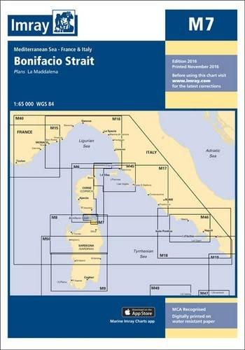 Imray Chart M7: Bonifacio Strait