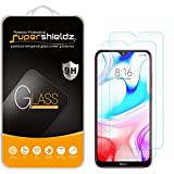 (2 Pack) Supershieldz for Xiaomi Redmi 8 and Redmi 8A Tempered Glass Screen Protector, Anti Scratch, Bubble Free