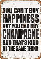 You Can Buy Champagne ティンサイン ポスター ン サイン プレート ブリキ看板 ホーム バーために