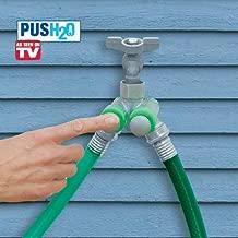 As Seen on TV Push H2O Push Button Hose Spigot Attachment