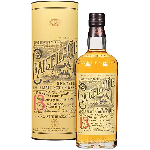 Craigellachie 13 anni Single Malt Scotch Whisky, Speyside, 70 Cl