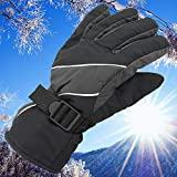 ZXCVWY Winter Waterproof Multicolor Guantes Men Esquiar Gloves Thermal Windproof Keep Warm Esquiar Ciclismo Guantes Moto