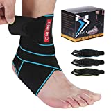 Ankle Brace for Women & Men - Ankle Brace Stabilizer - Ankle Brace for Women Sprained Ankle,Running Ankle Brace,Adjustable Ankle Brace,Ankle Support Brace,Volleyball Ankle Brace (1 Pack)