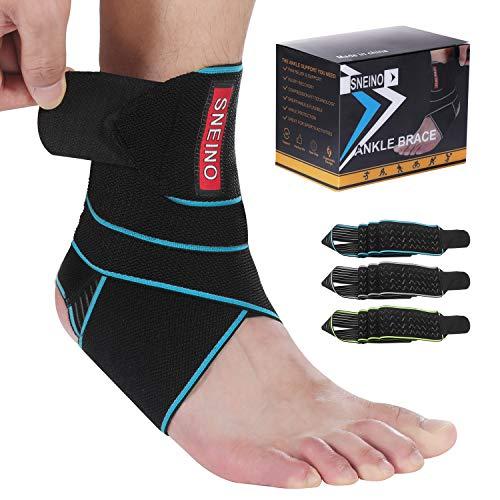 Ankle Brace for Women & Men - Ankle Brace Stabilizer - Ankle Brace for Women Sprained Ankle,Running Ankle Brace,Adjustable Ankle Brace,Ankle Support Brace,Volleyball Ankle Brace (1 Pack)