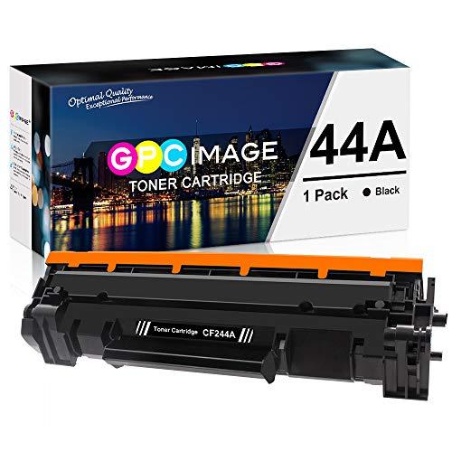 GPC Image 44A Kompatibel Toner Patronen für HP CF244A 44A mit Chip (1 Schwarz) für HP Laserjet Pro M15w HP M15a Laserjet Pro MFP M28w HP Laserjet MFP M28a Drucker