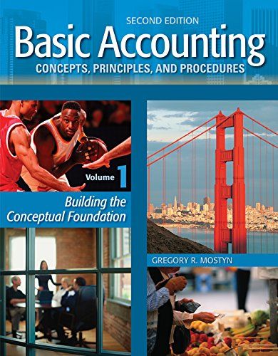 Basic Accounting Concepts, Principles, and Procedures, Volume 1, 2nd Edition