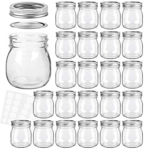 Mason Jars 10 oz With Regular Lids