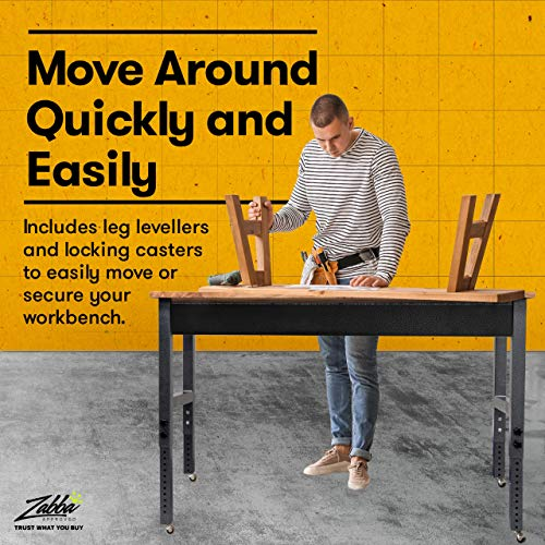 Mobile Garage Workbench w/Casters | 61