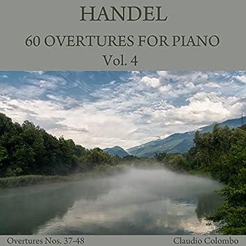 Handel: 60 Overtures for Piano, Vol. 4