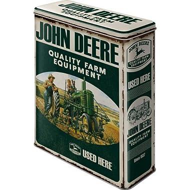 John Deere Storage Tin - Quality Farm Equipment XL