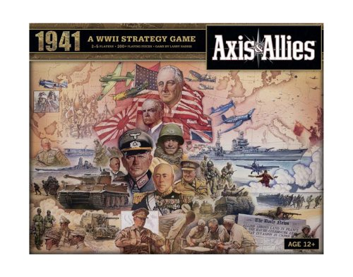 Avalon Hill Axis and Allies 1941 Board Game, Multicolor
