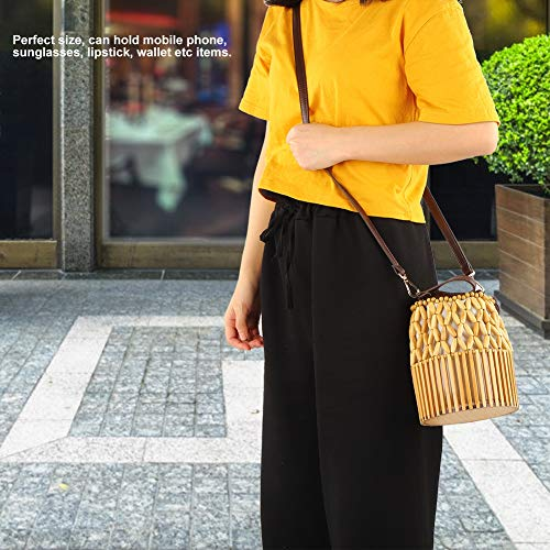 Jopwkuin Bolsa purificadora de Aire Charcole de bambú, Bolso de bambú para Mujer, Delicado Ambiental para Mujer, para Fiesta, para Dama, para la Playa