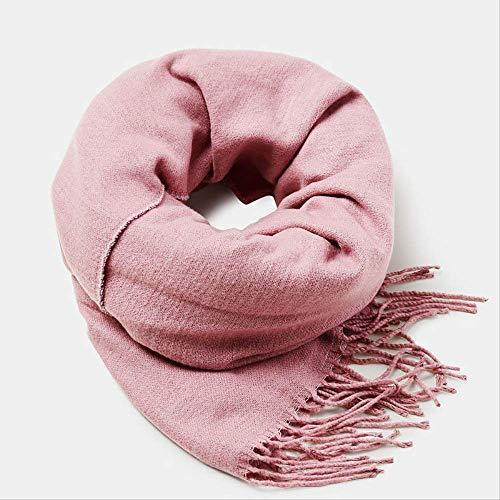 YYSND sjaal voor herfst en winter, voor dames, sjaal in kasjmier dikke sjaal, lange cijfers warm