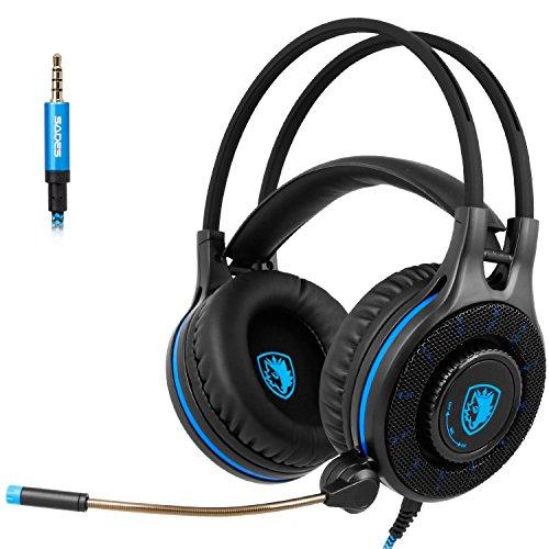 SADES SA936 Neue Xbox One Gaming Headset, Gaming Headsets Kopfhörer für New Xbox One PS4 PC Laptop Mac Computer Phone (2020 Neu veröffentlicht)