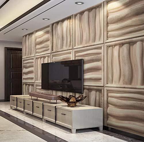 """3D Gesneden Hout WG0458 Behang Afdrukken Decal Deco Binnen Muur Muurschildering Zelfklevend Behang AJ WALLPAPER NL Muzi (Vinyl (geen lijm en verwijderbaar), 【 82""""x58""""】208x146cm(WxH))"""