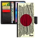 utaupia Coque Samsung Galaxy A70 Portefeuille Drapeau Japon Japonais SM-A705F personnalisé Basket...