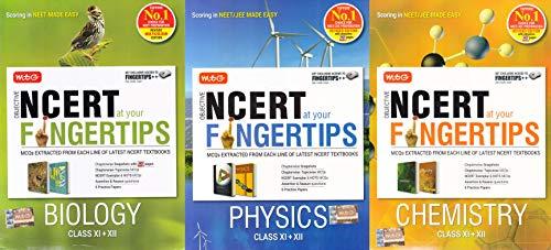 NCERT At Your Fingertips (NEET) Physics,Chemistry,Biology 2019-2020