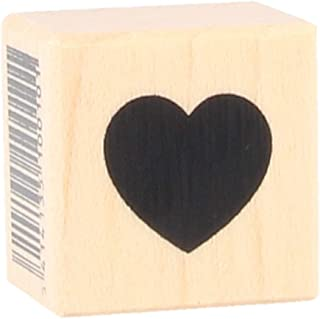 Artemio Wooden Stamp A Small Full Heart