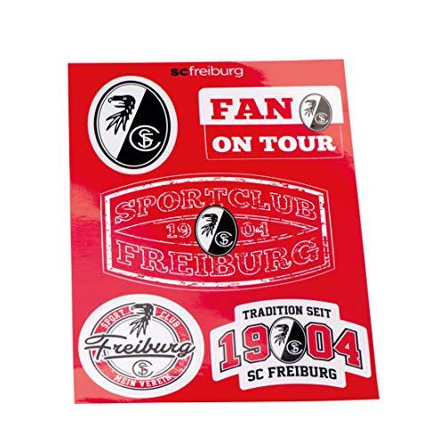 Unbekannt Aufkleber Set A5 SC Freiburg - Aufkleber, Sticker, Autoaufkleber, Gesichtaufkleber etiqueta engomada, autocollant 18-100577