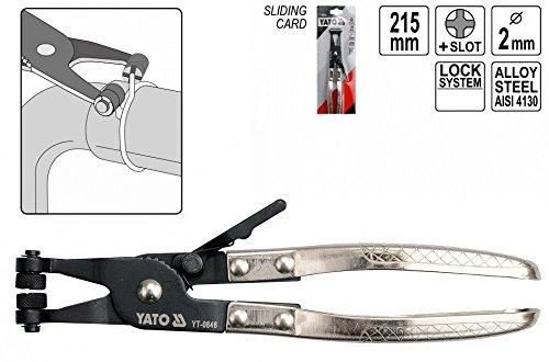 Schlauchklemmzange Klemmzange für Schlauchschellen Länge: 200 mm