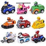 NamekPlanet - Lot de 9 Figurines vehicules Pat Patrouille Jouets - 6 à 7cm