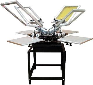 Grupo K-2 Máquina Serigrafía Pulpo 4 Brazos 4 Estaciones Microregistro