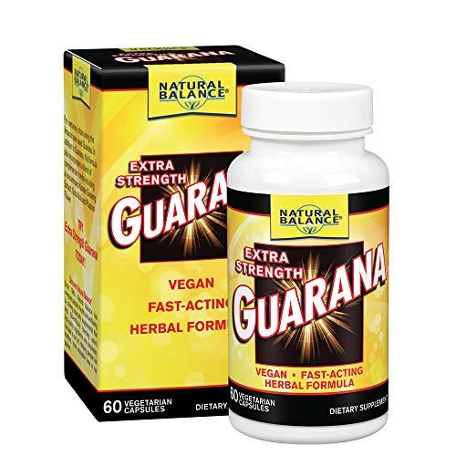 Natural Balance Extra Strength Guarana, 60-Count