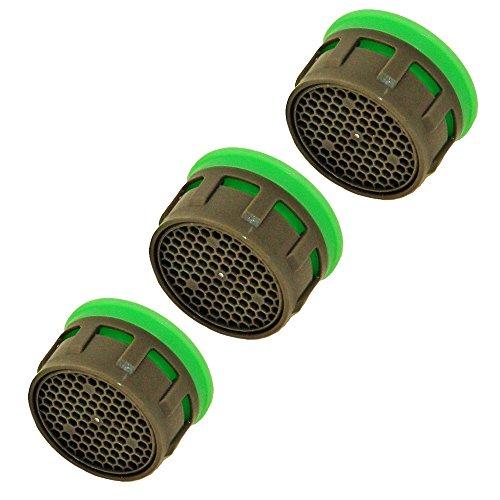 3er-Pack Neoperl Honeycomb Perlator Spar-Strahlregler Einsatz Größe 22/24-9 Liter/Minute