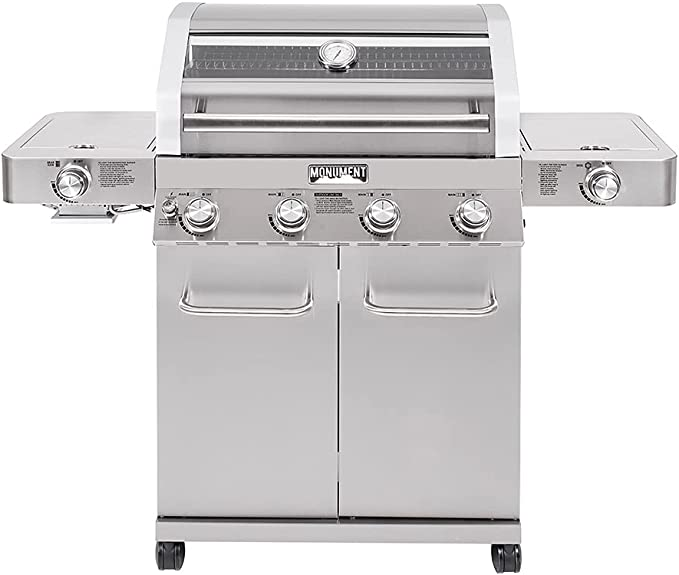Monument Grills 35633 4-Burner - Clearview Lid