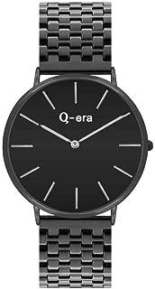 Q-era Rose Gold Black Women's Watch - QV2804-13