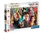 Clementoni Harry Potter-104 Piezas Puzzle Infantil Fabricado en Italia, 6 años y más, 25712, Multicolor