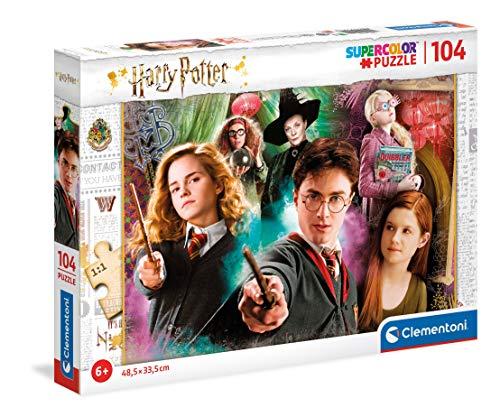 Clementoni- Harry Potter-104 Piezas Puzzle Infantil Fabricado en Italia, 6 años y más, 25712