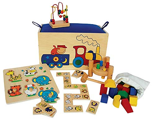 Kids Toy 108001 - Holzbox, 5 in 1