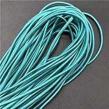 5 Yards 2 Mm Kleurrijke Hoog-elastische Ronde Elastische Band Ronde Elastische Touw Rubberen Band Elastische Lijn Diy Naai...
