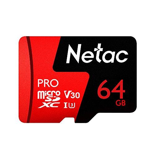 Cartão Memória MicroSD 64GB Extreme Pro Netac