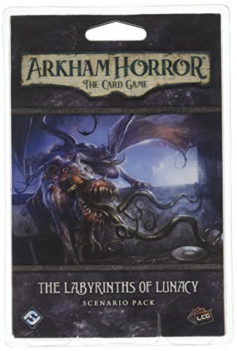 Arkham Horror The Card Game The Labyrinths of Lunacy SCENARIO PACK   Horror Game   Mystery Game  ...