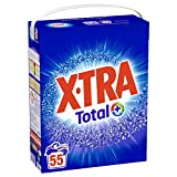 X•TRA Total+ – Lessive en Poudre – Blanc et Couleurs – 55 Lavages