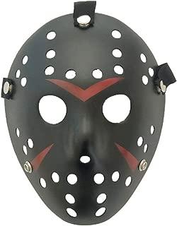 Jason Mask Masquerade Mask Cosplay Costume Halloween Killer Halloween Mask - Black
