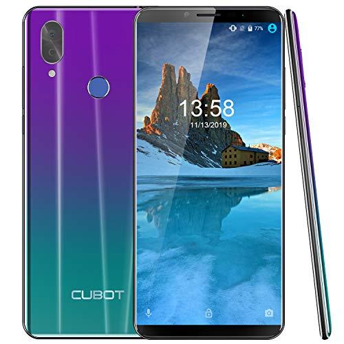 CUBOT X19 S Smartphone 5.93 Pollici 2160x1080 FHD+ Android 9 Pie Batteria 4000mAh 4GB 32GB Supporto Face ID Dual SIM Cellulare Sfumato
