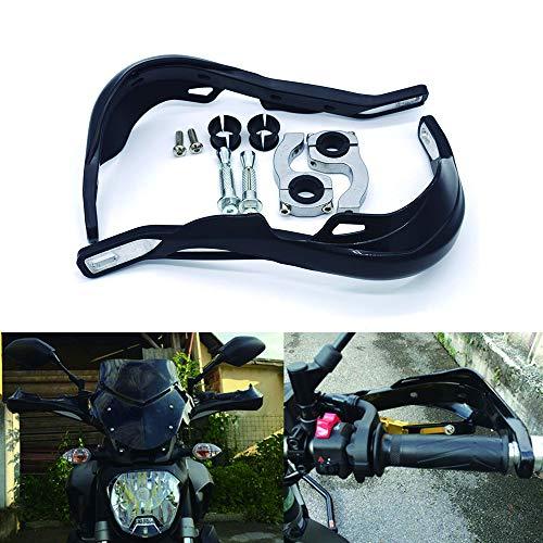 Maso Universal Motorrad Handschützer Motorrad Griffe Aluminiumlegierung Lenkerschutz für Geländefahrrad Geländefahrrad Geländefahrrad Geländewagen