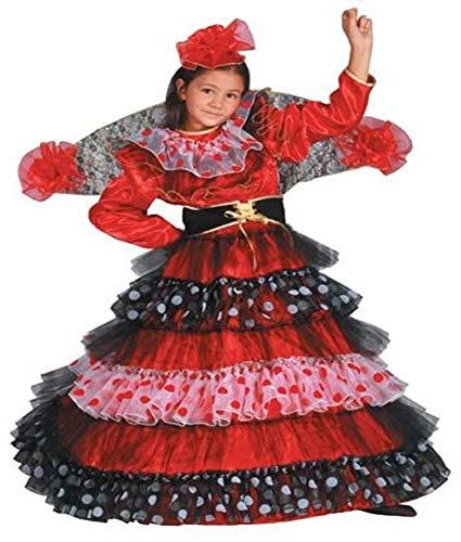 Dress Up America Disfraz de Bailarina de Flamenco