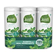 Seventh Generation Multi-purpose Wipes, Garden Mint, 111 Count