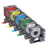 Quality - Bigger replacement for DYMO D1 Label Tapes adopts Thermal Transfer technology, which tends to deliver crisp & accurate colours and ultra-sharp text. Widespread-used - It can be used for office, family, or industrial applications. Features -...