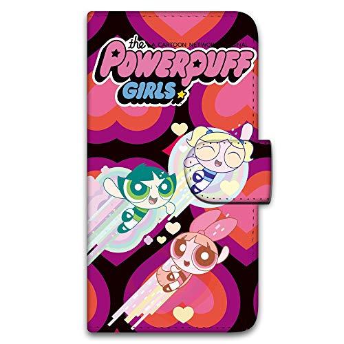 パワーパフガールズ iPhone6 Plus (5.5inch) ケース 手帳型 UVプリント手帳 デザインD-E (ppg-020) スマホケース アイフォンシックス プラス 手帳 カバー スマホカバー WN-LC269869_LL