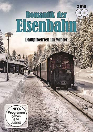 Romantik der Eisenbahn - Dampfbetrieb im Winter [2 DVDs]